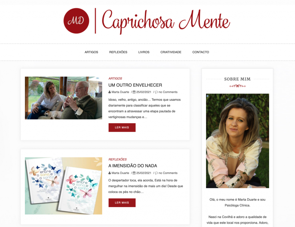 Caprichosa Mente Blog